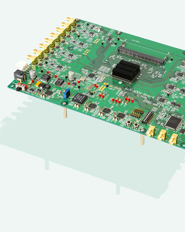 FPGA Board with High-speed AD/DA