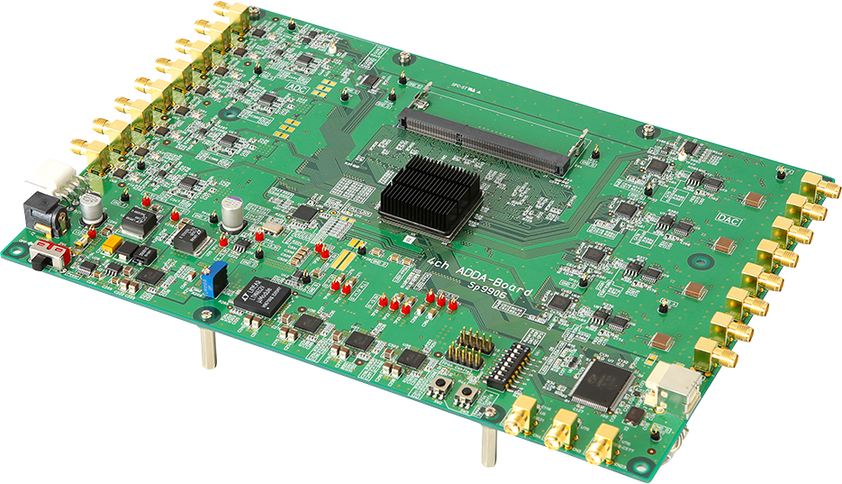 FPGA Board with High-speed AD/DA Sp9906